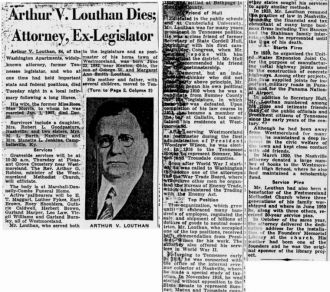 Arthur Vance Louthan