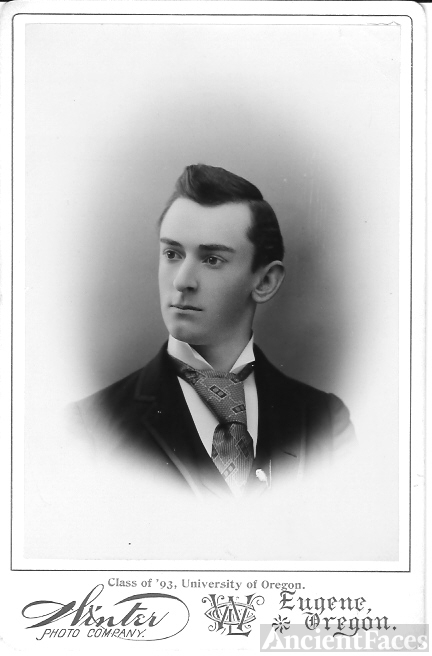 Univ of OR Class of 1893 Unknown Man