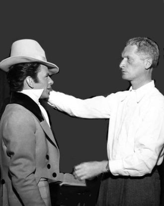 Frank Sinatra and Laszlo Benedek