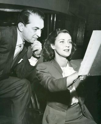 Jane Froman and Percy Faith