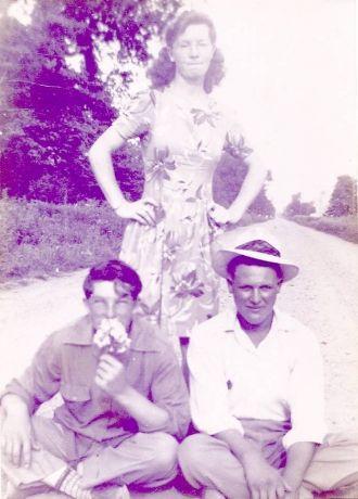 Pete Driskill,larrance Moyer,and Nelly Driskill moyer