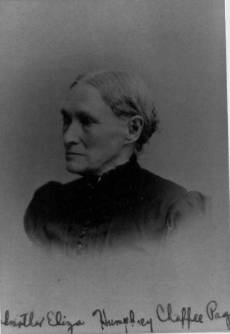 Eliza Esther Emmaline Humphrey Chaffee Page