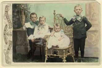 Charles L. Johnson's sons c. 1898