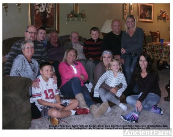 Bradley, Tuttle, Clark and Richardson Families, 2016
