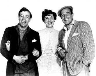Adolph Green, Betty Comden, and Gene Kelly