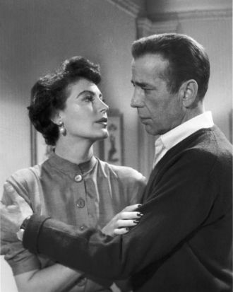 Ava Lavinia Gardner and Humphrey Bogart