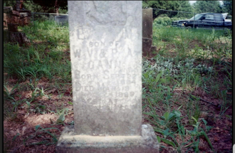 Luther M. Gann Grave Stone