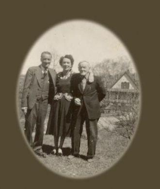Hugh Alexander McCallum (far right)