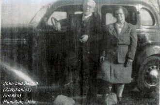 John and Bertha Sositko