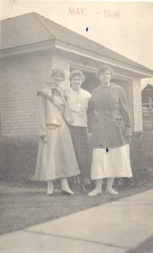 Ruby Phillips Bullock and Unknown Women