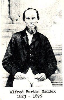 ALFRED BURTON MADDUX