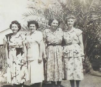 McAfee Sisters, 1940's
