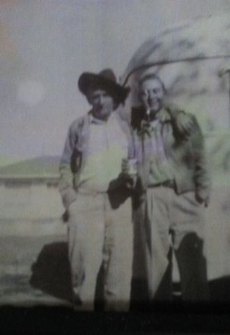 Walt and Carl Oliver