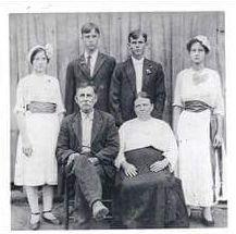 Lloyd J Holmes family