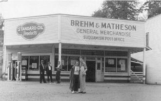 Brehm & Matheson Merchandise, Washington 1930