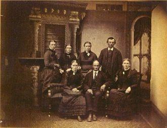 Hiram Butterfield and Children