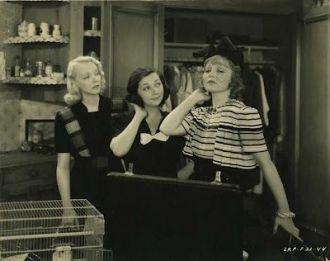 Patsy Kelly, Virginia Bruce, and Nancy Carroll