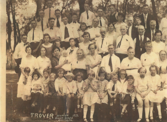 Trover family reunion 1922 (1)
