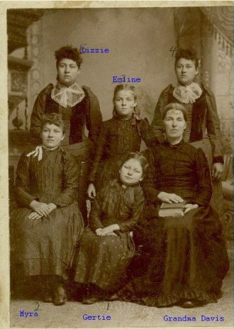 GGrandmother  Davis & 5 Girls