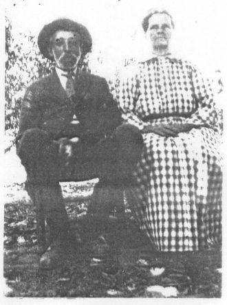 James Ellard Anderson and ? woman
