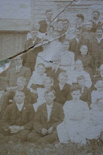 Town family reunion, about 1905 [1/3]