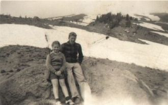 Pat O'Toole & Joyce Benning, Mt Hood