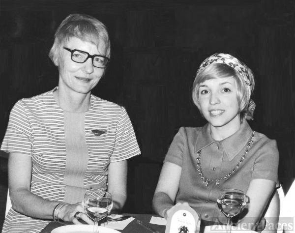 Eunice McPherson and Amanda Stevenson