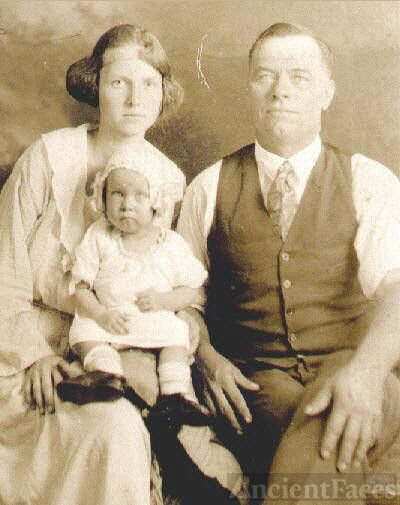 Grandparents Albert,Rosa, & Ethel
