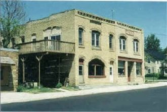 The McNeil Building on Main Street