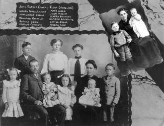 John Baptist Clark Family
