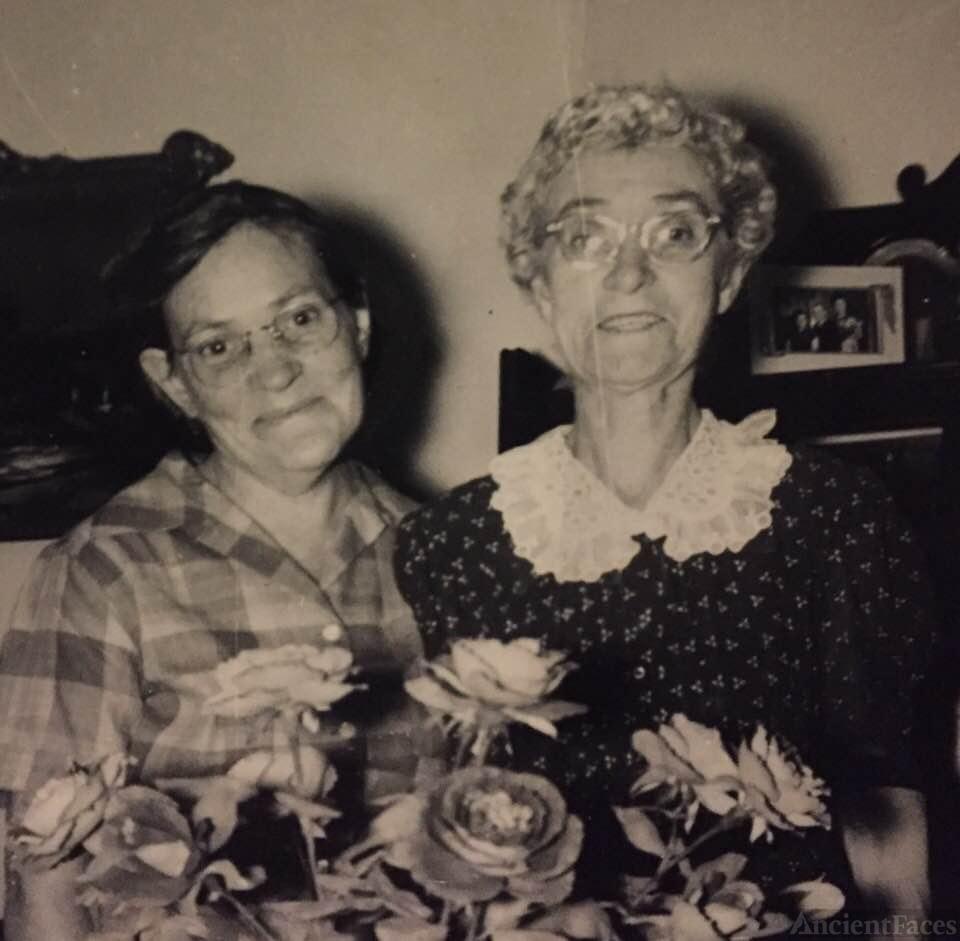 Rosie Allen and Mamie Eder