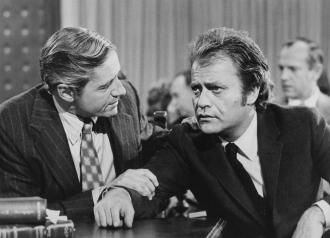 Arthur E Hill and Vic Morrow