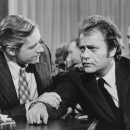 Arthur E Hill and Vic Morrow