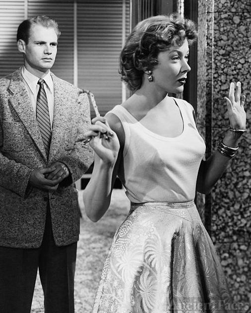 Adam Williams and Gloria Grahame