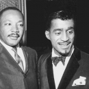Sammy Davis Jr. and Martin Luther King.