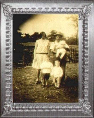 Chris & Eva Louise (Burwell) RUCKMAN & Children