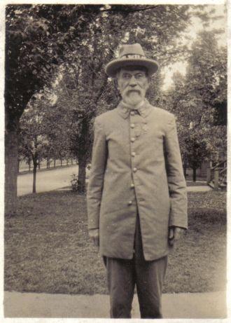 Robert Greene Hewitt in Civil Reunion Uniform