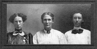 Ada Collins Howell & daughters
