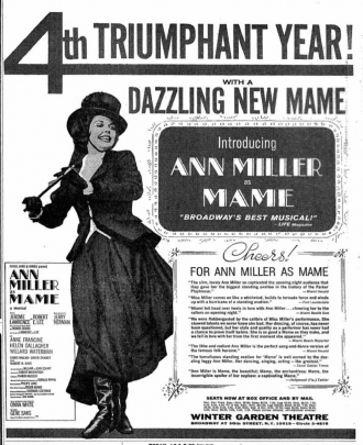 Ann Miller, Mame