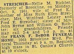 Nellie M. Richter obituary