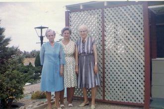 Bertha Brancacio, Mable Howard, and Mayme Nettle