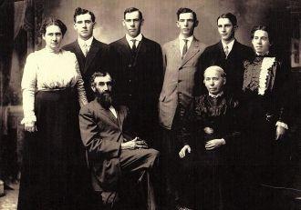 The Emanuel Ulmer Family, 1912