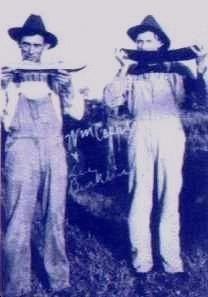 William Capps and Lee Burklin
