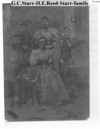 George C. Starr and Family Harriet E. Reed-Dunn