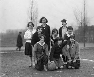 Rosedale Girls Basketball team