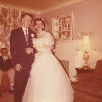 Wayne & Jean (Tussey) Rice, 1958