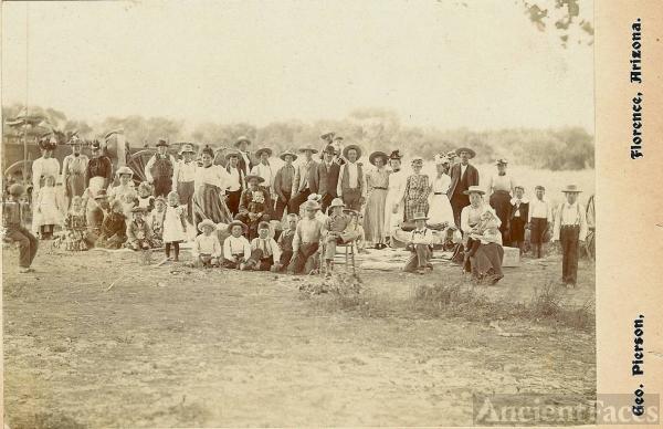 Gathering in Florence, Arizona