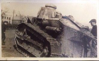 Hewitt family army tank