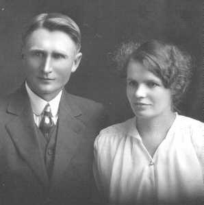 Eva and Oscar Hanson