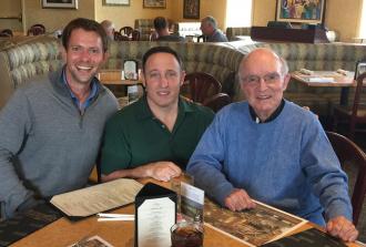 Fr. Jerry Wade, Daniel Pinna & Michael Fiorillo